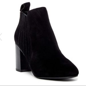 14th & Union Black Suede Bootie